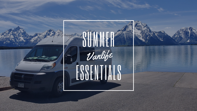 Summer Vanlife Essentials